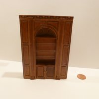 "1/2"" Scale ""Manor Library Collection"" SHELF UNIT NWN"