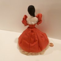 Lady Doll wearing red dress