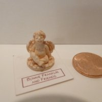 Angel figurine by Bonnie Franklin