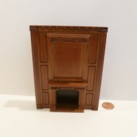 "1/2"" Scale ""Manor Library collection"" FIREPLACE NWN"