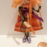 Girl Doll made by Kathi Kuti (broken thumb)