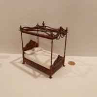 "1/2"" Scale Canopy Bed MH"