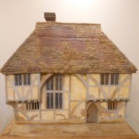 Dollhouse OOAK made by Peter Mattinson of England