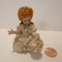 Little girl doll (FLOWER GIRL) BY Jan Clarke Of England