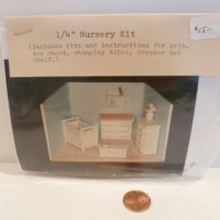 "1/4"" Scale Nursery KIT by Debbie Young"