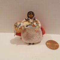 Tiny Peddler Doll