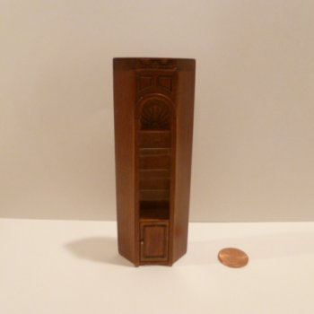"1/2"" Scale ""Manor Library Collection"" CORNER UNIT NWN"