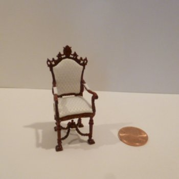 "1/2"" Scale ""Versaille"" Arm Chair MH"