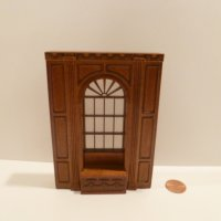 "1/2"" Scale ""Manor Library Collection"" WINDOW UNIT NWN"